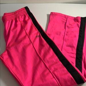 Pink Victoria's Secret Track Pants
